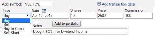 Google Finance India - 4
