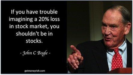 Lost money in stock market -image